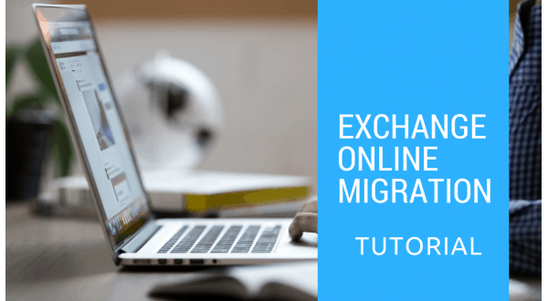 Exchange online migration using self service solution