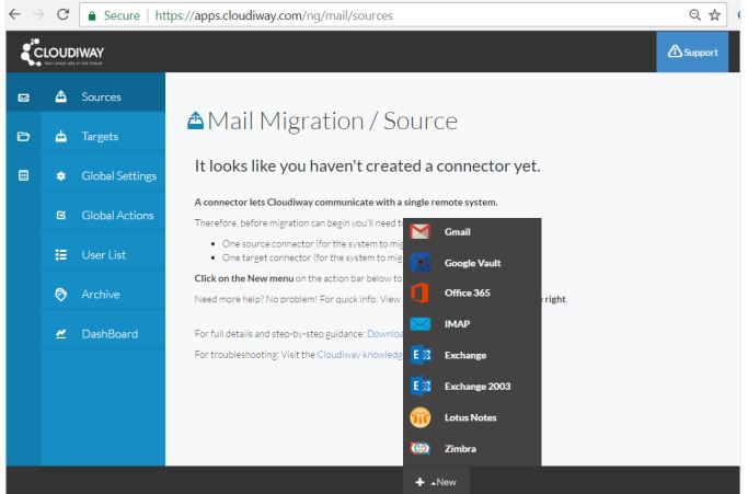 Mail Migration and Source