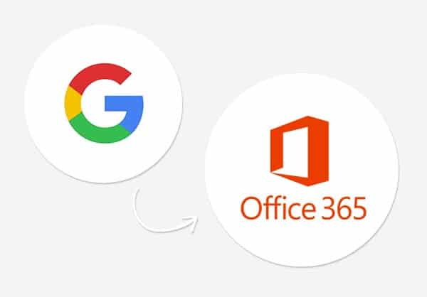 Google Suite to Office 365 migration
