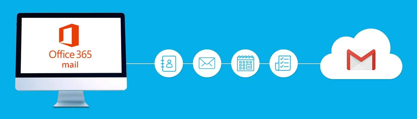 Mail migration Office 365 to Gmail