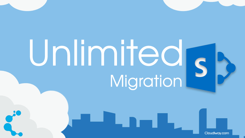 Cloudiway's unlimited SharePoint migration is coming!