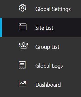 Cloudiway Site List