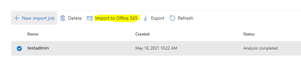 Mapping File Import to Office 365
