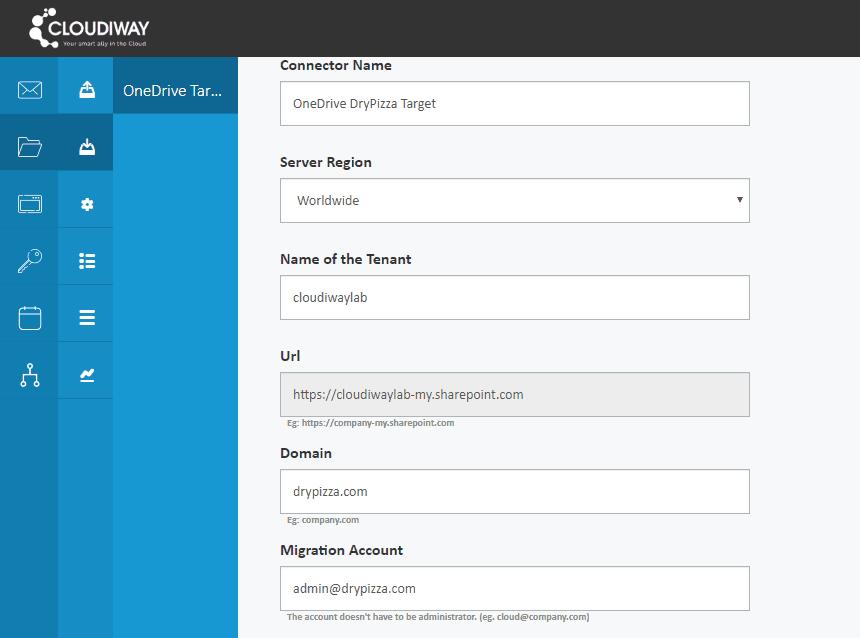 OneDrive Migration - Cloudiway